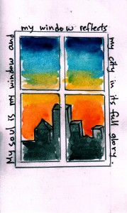 My soul is my window…