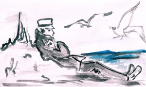 Homage to Hugo Pratt (Corto Maltese)